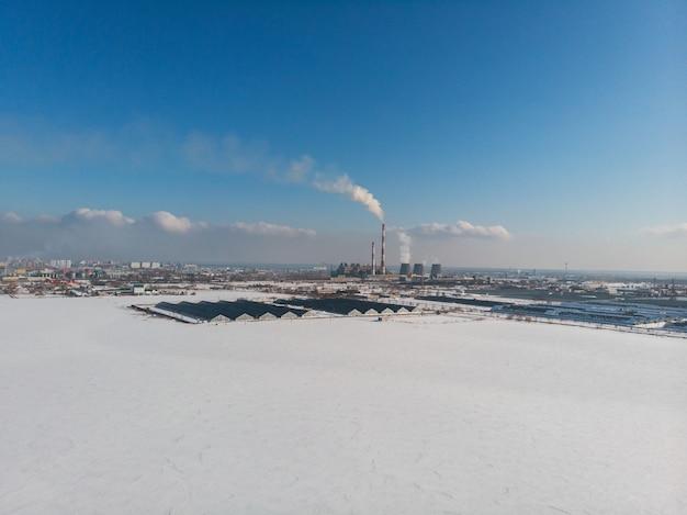 Concetto di ecologia pericolosa in città