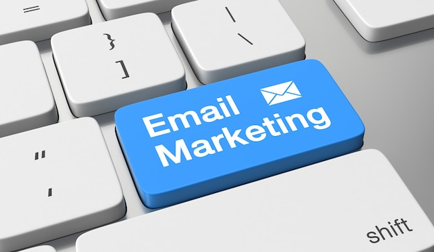 Concetto di email marketing