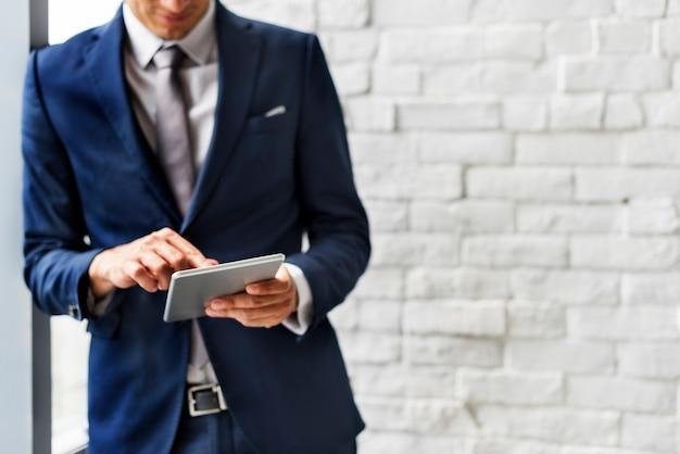 Concetto di enterpriser di analisi di comunicazione commerciale