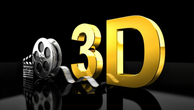 Concetto di film 3d