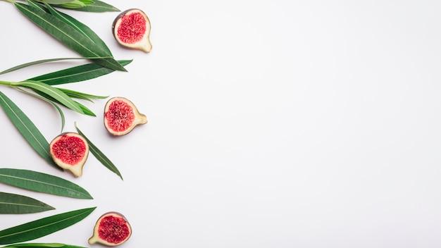 Concetto di fiori moderni con stile elegante