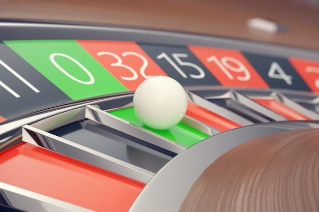 Concetto di gioco di las vegas delle roulette del casinò.