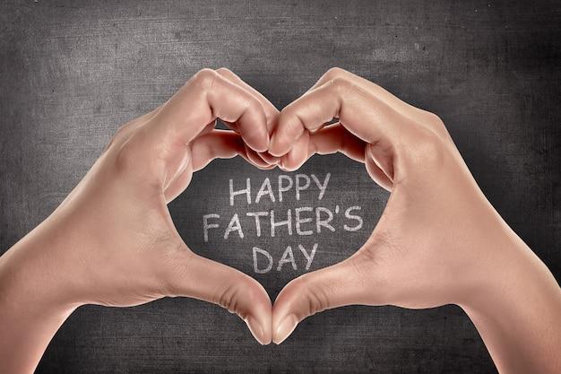 Concetto di giorno di padri