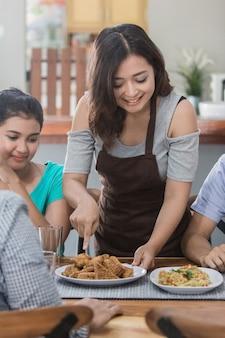 Concetto di gruppo cucina