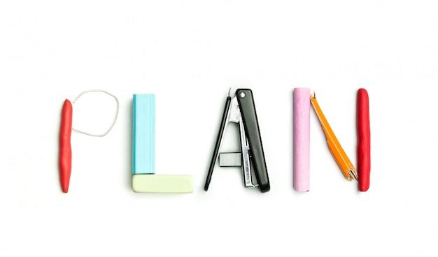 Concetto di idea con carta stropicciata colorata