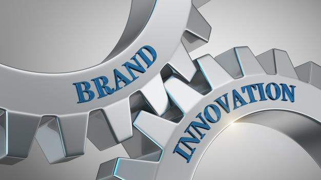 Concetto di innovazione del marchio