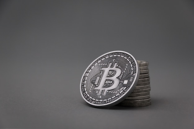 Concetto di investimento bitcoin