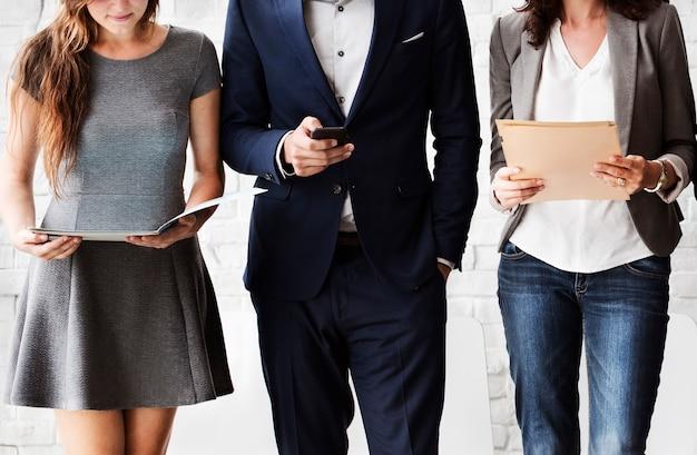 Concetto di lavoro di reclutamento di intervista delle risorse umane