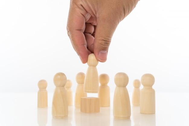 Concetto di leadership.