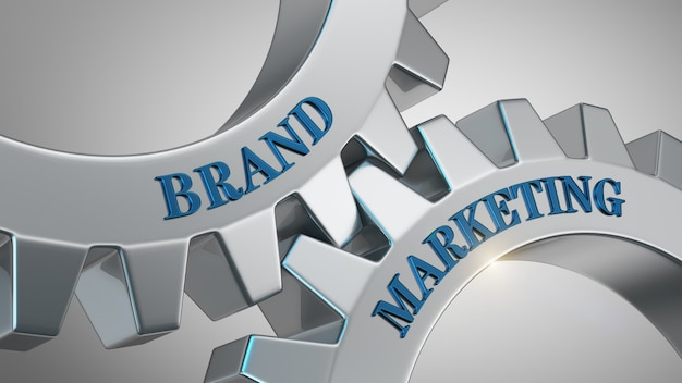 Concetto di marketing del marchio