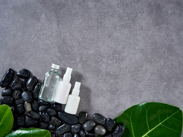 Concetto di massaggio spa e cura della pelle