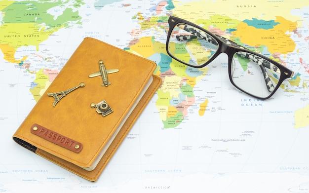 Concetto di pianificazione di viaggio
