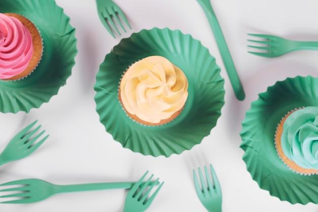 Concetto di pop torta creativa