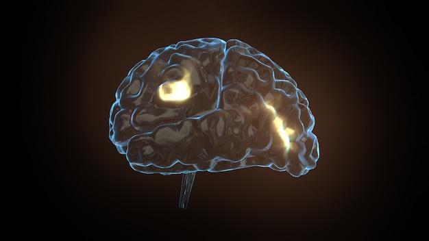 Concetto di potenza del cervello