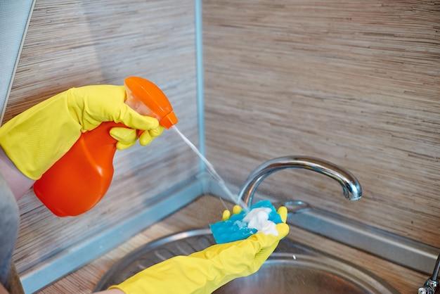 Concetto di pulizia della casa