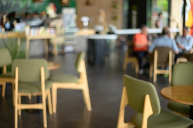 Concetto di rilassamento del ristorante del caffè del contatore della barra della caffetteria