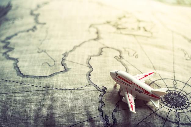 Concetto di sfondo di viaggio e trasporto