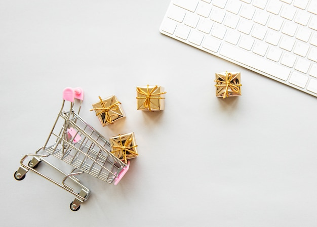 Concetto di shopping online