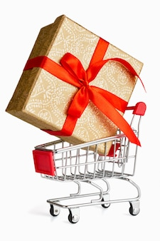 Concetto di shopping regalo