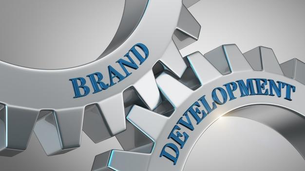 Concetto di sviluppo del marchio