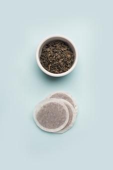 Concetto di tè delizioso con stile elegante