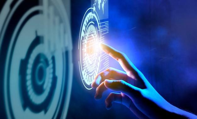 Concetto di tecnologia digitale