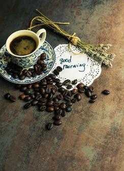 Concetto di tempo del caffè