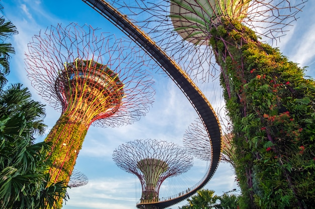 Concetto di viaggio di singapore