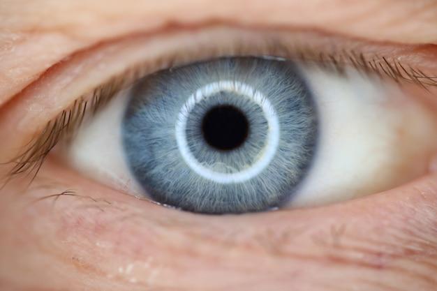 Concetto di visione con correzione laser