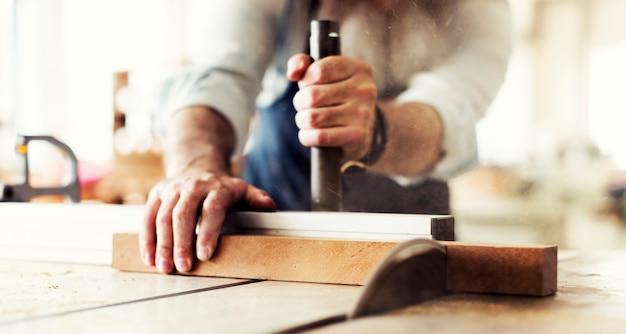 Concetto esperto di occupazione professionale di occupazione di artigiano