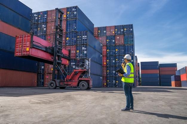 Concetto logistico aziendale