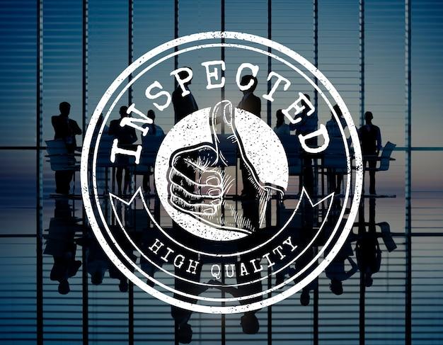 Concetto premium logo premium badge di alta qualità