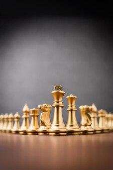 Concorso di scacchiera per strategia di concorrenza aziendale