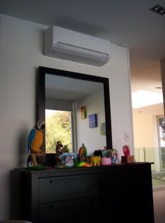 Condizionatore d'aria, l'aria