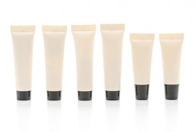 Confezione cosmetica vuota di crema o gel