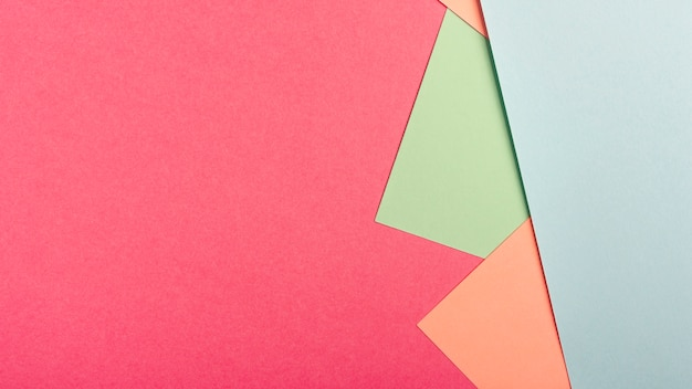 Confezione di fogli di cartone pastello con spazio di copia