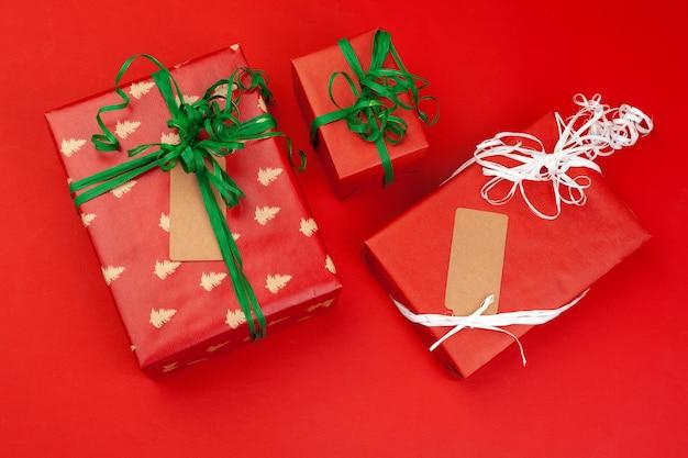 Confezione regalo a colori