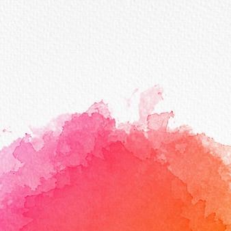 Confine acquerello sfondo con copia spazio su carta ruvida