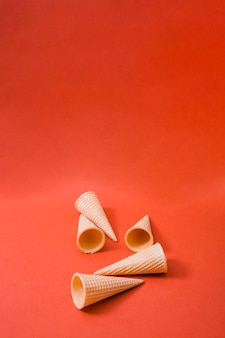 Coni gelato bianco