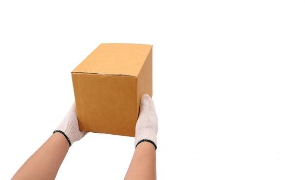 Consegna consegna pacco pacchi al destinatario