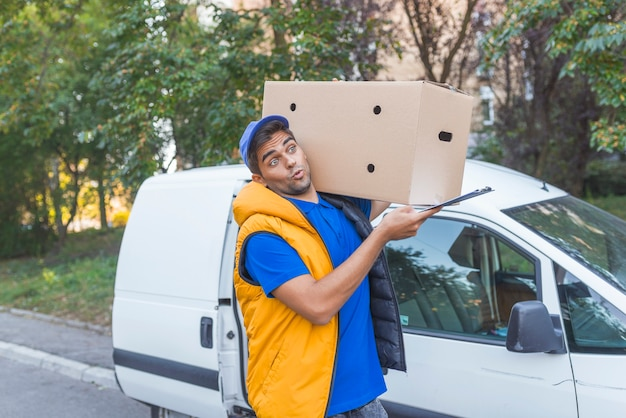 Consegna del pacchetto