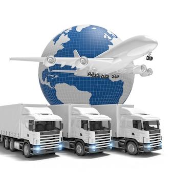 Consegna veloce in tutto il mondo