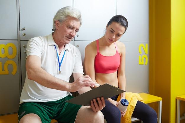 Consigli del trainer