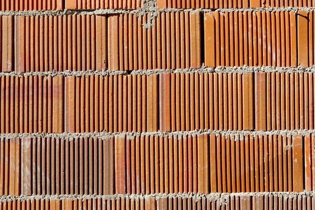 Consistenza del muro di mattoni per lo sfondo