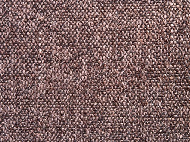 Consistenza del tessuto canvas realizzato a mano con un intreccio bicolore di filati in elegante design rustico alla moda