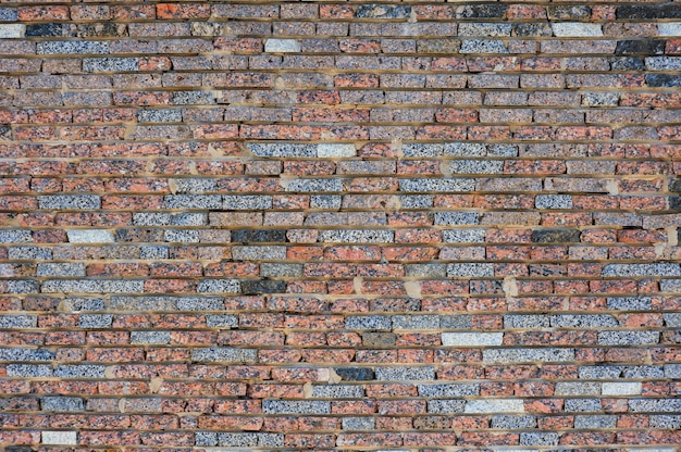 Consistenza del vecchio muro di mattoni