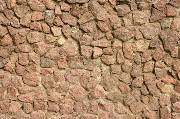 Consistenza della pietra grigia.