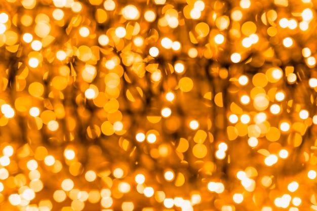 Contesto di un bokeh incandescente illuminato