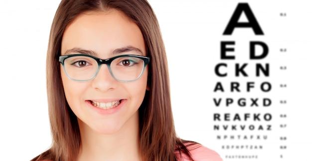 Controlla la tua vista una volta all'anno