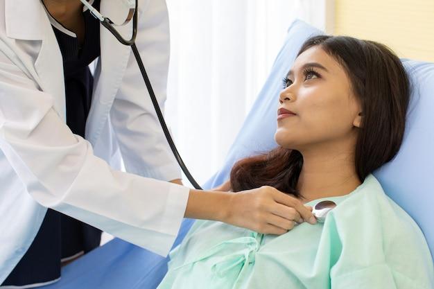 Controllo sanitario di routine in ospedale